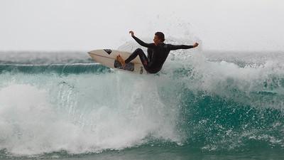 Lip Surfing - Surfing Currumbin & Burleigh; , Gold Coast, Queensland, Australia; 25 July 2012. Photos by Des Thureson - http://disci.smugmug.com. Burleigh.