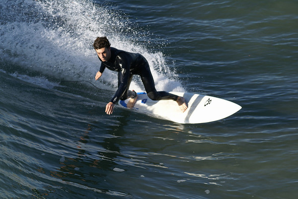 Surfing Huntington Beach 12-28-12