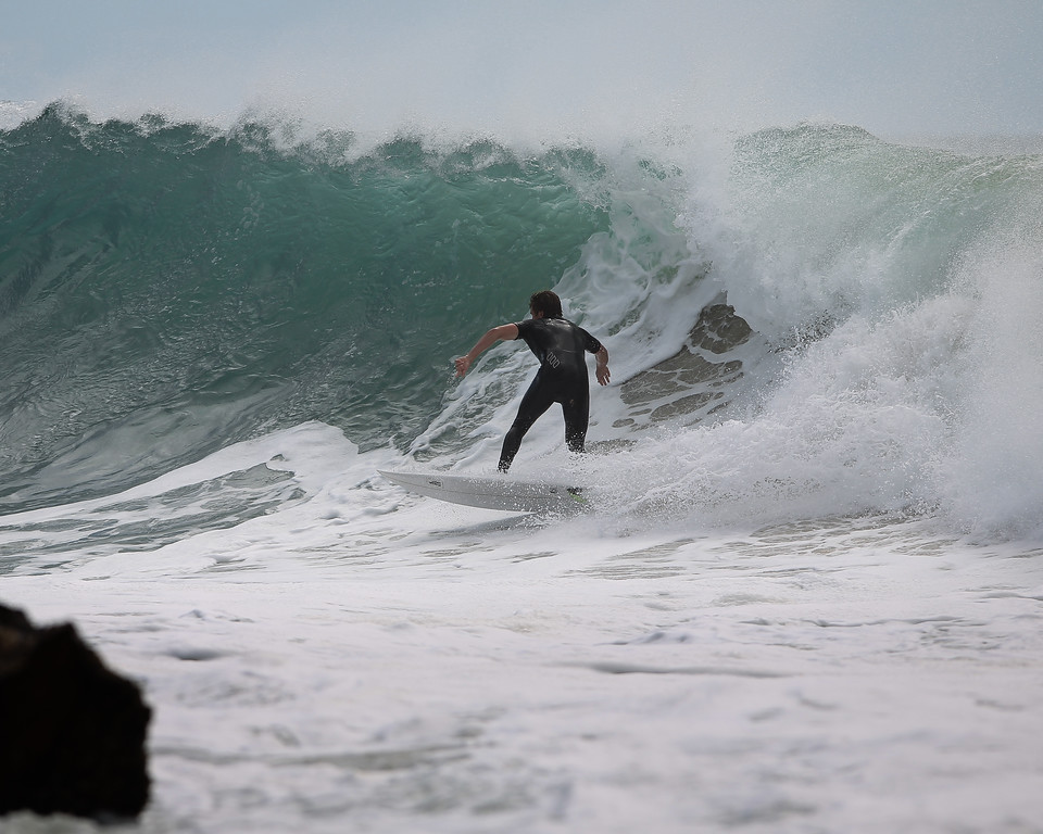 "Surfing Kirra first & Snapper Rocks later, Gold Coast, Queensland, Australia; 27 August 2014. Photos by Des Thureson - <a href=""http://disci.smugmug.com"">http://disci.smugmug.com</a>.  - Snapper Rocks."