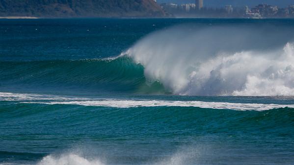 Surfing Kirra first & Snapper Rocks later, Gold Coast, Queensland, Australia; 27 August 2014. Photos by Des Thureson - http://disci.smugmug.com.  - Kirra Point & Kirra Beach.