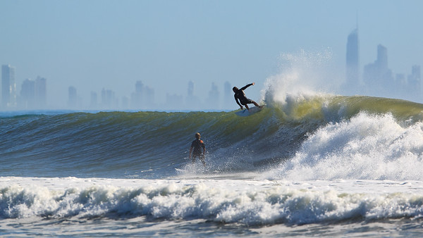 Surfing Kirra at the end of 'big swell week'; June 2012. Photos by Des Thureson - http://disci.smugmug.com