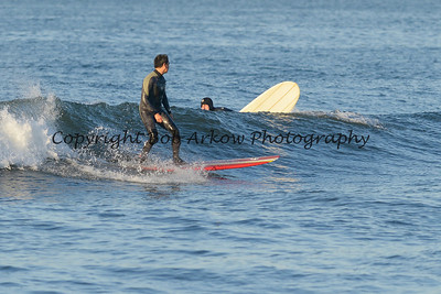 Surfing Long Beach 6-1-14