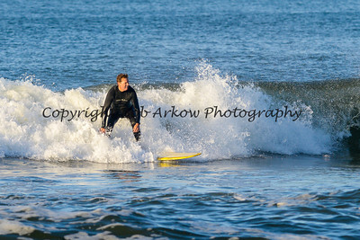 Surfing Long Beach 6-7-14