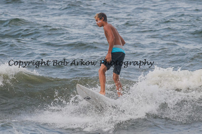Surfing Long Beach 7-20-13