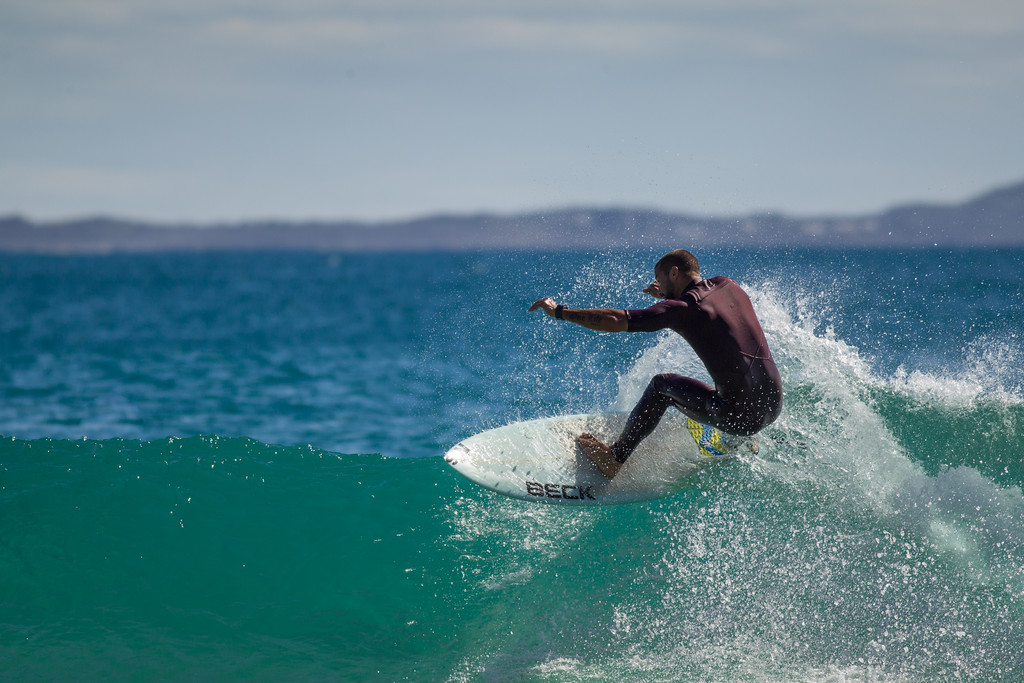 """Surfing Granite Bay & Tea Tree Bay, Noosa National Park on a glorious Winter's day, Noosa Heads, Queensland, Australia, 2014. Photos by Des Thureson - <a href=""""http://disci.smugmug.com"""">http://disci.smugmug.com</a>"""