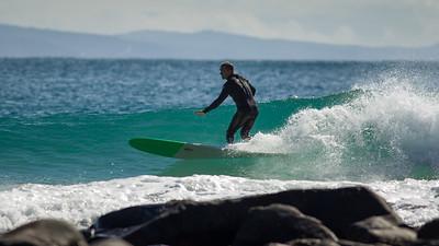 Surfing Granite Bay & Tea Tree Bay, Noosa National Park on a glorious Winter's day, Noosa Heads, Queensland, Australia, 2014. Photos by Des Thureson - http://disci.smugmug.com