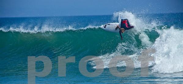 Surfing Malibu in Sept '14