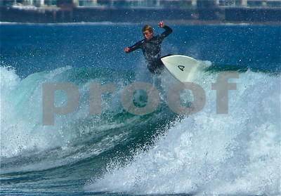 Surfing Malibu 2014