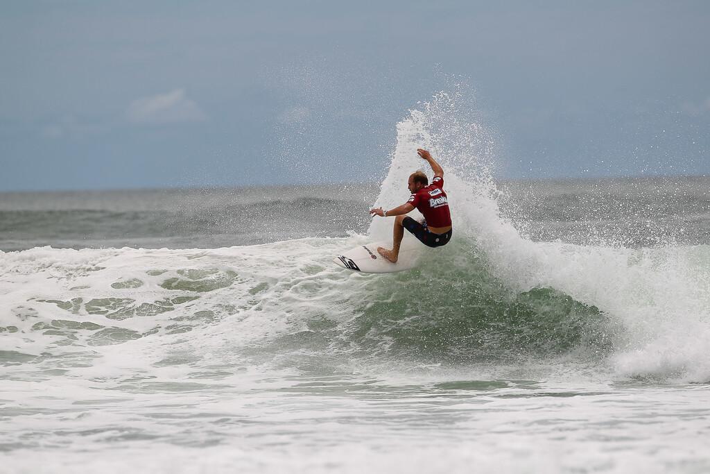 "Breaka Burleigh Surf Pro - Surfing; Burleigh Heads, Gold Coast, Queensland, Australia. ASP 4 Star World Tour Event. Wednesday 8 February 2012. Photos by Des Thureson: <a href=""http://disci.smugmug.com"">http://disci.smugmug.com</a> - Mark Mathews  - UNEDITED / Minimal cropping / Horizons not levelled."
