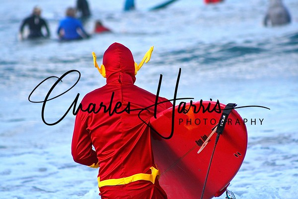 Flash Conquers Surf