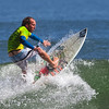 Surfer at the Kona Pro Jax surfing competition in Jacksonville Beach, Fl..
