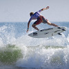 Surfing Pro Tristan Thompson at the Kona Pro Jax  competition in Jacksonville Beach, Fl.. 2012