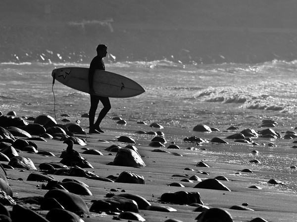 """Rincon, Spanish for """"angle"""" or """"corner"""", is a surf spot located at the Ventura and Santa Barbara County line in Southern California, USA.  Rincon is one of the most famous surf spots in California and is known around the world for its long, peeling rights."""