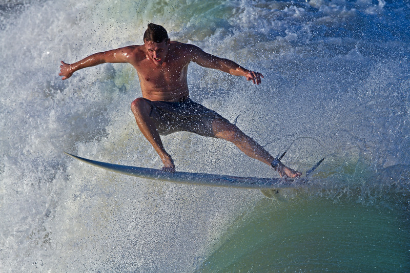 """Got Air""... Surfer at Jacksonville Beach, Florida. Waves from Hurricane Sandy.."