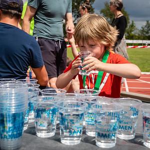 Water, eten en een medialle voor iedereen
