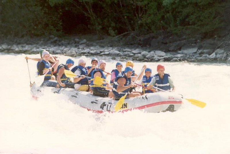 Rafting (Durance France)