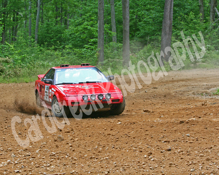 Jones McClelland Car 724 Susquehannock Trail Performance Rally June 5,2009, Wellsboro, Pa.