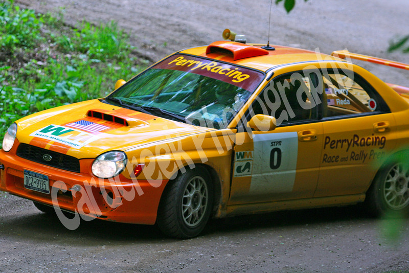 STPR Car 0 Perry Racing Susquehannock Trail Performance Rally, Wellsboro, Pennsylvania.<br /> June 6, 2009.