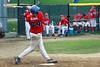 Andrew Dewing bats for Swampscott