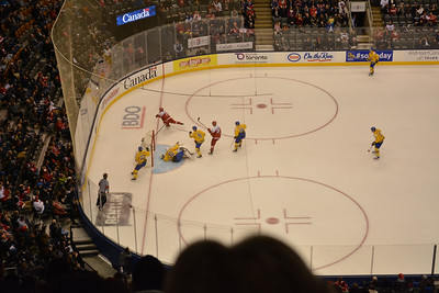 Sweden / Denmark World Juniors dec 27 2014