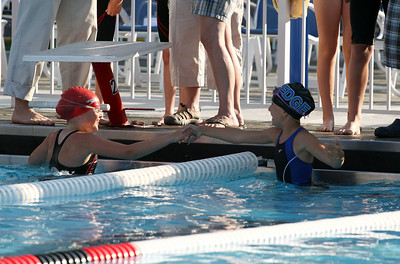 Anna at the Edge vs Essex swim meet in Essex outdoor pool, July 2010.