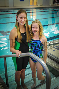 1-04-18 Putnam Co  YMCA Swim Team-6-Abby Warnecke and Olivia Fenbert