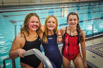1-04-18 Putnam Co  YMCA Swim Team-15-Rory Youngpeter, Jenna Downey and Macy Wilson