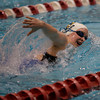MARY SCHWALM/Staff photo Andover's Emilee Nason swims the 200 freestyle. 11/17/13