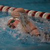 MARY SCHWALM/Staff photo Andover's Nikole Rudis swims the 200 Freestyle 11/17/13
