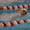 MARY SCHWALM/Staff photo Andover's Soonjim Kim swims a leg of the 400 freestyle relay. 11/17/13