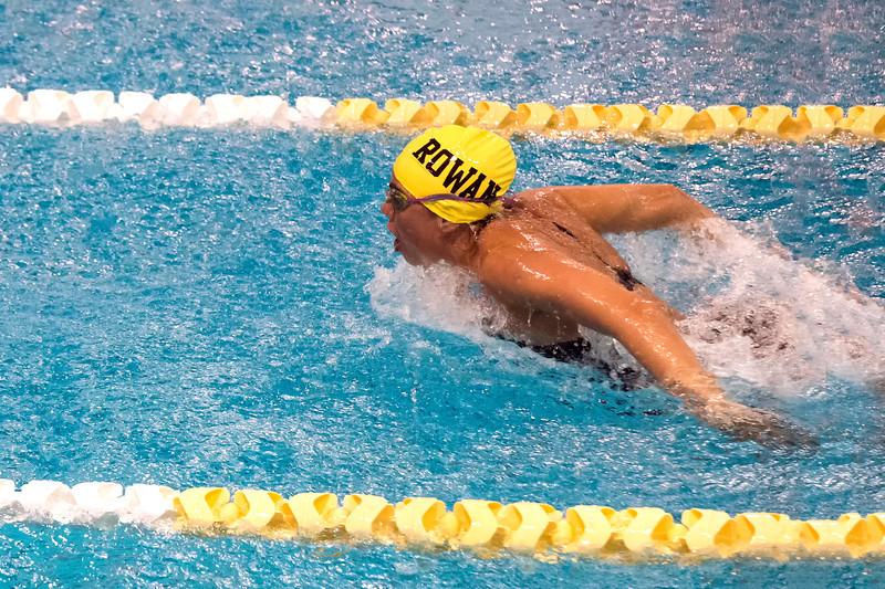 Rowan swimmer