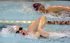 Dobyns Bennett's Kendra Brooks in the women's 200 yard freestyle. Photo by ned Jilton II