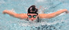 Dobyns Bennett's Kate Ardire swimming the butterfly leg of the 200 yard IM. Photo by Ned Jilton II