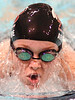 D-B's Kate Ardire swimming in the girls 200 yard IM. Photo by Ned Jilton II