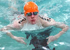 Steve Dougherty from Sullivan Central swims the Boys open 200 meter IM. Photo by Ned Jilton II