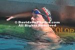 DAVIDSON, NC -  Men's swimming meet versus VMI held at Davidson College in Cannon Natatorium in Davidson, North Carolina.