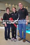22 January 2011:  Davidson hosts Liberty in swimming action at Charles A. Cannon Pool in Davidson, North Carolina.