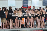 28 January 2011:  VMI visits Davidson in swimming action at Charles A. Cannon Pool in Davidson, North Carolina.