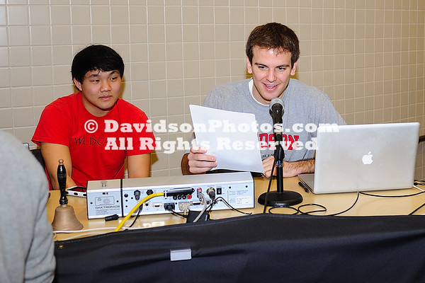 21 January 2012:  Gardner-Webb men's swimming took to the road Saturday afternoon to take on Davidson, ultimately falling to their CCSA counterparts 195.5-88.5  On the women's side, GWU won 6 of 14 swimming events, but saw Davidson take first place in 4 of the last 5 events as the Runnin' Bulldogs dropped Saturday's dual meet 124-170 at Charles A. Cannon Pool in Davidson, North Carolina.