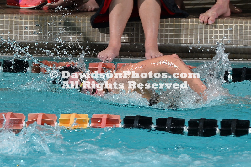 NCAA SWIMMING:  JAN 27 Davidson Quad Meet