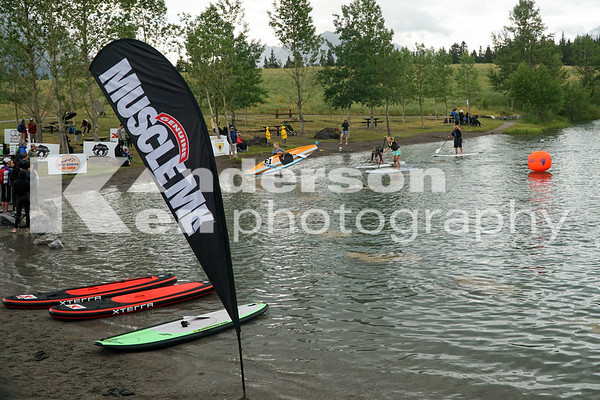 2014 Grizzly Canmore Open Water Swim and SUP Cup Event