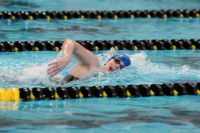 MVC Swimming & Diving Championships on Wednesday, February 20, 2019. Jesse Scheve/Missouri State University