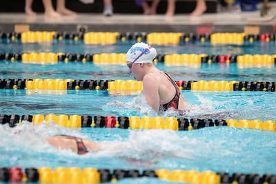 MVC Swimming & Diving Championships on Friday, February 22, 2019. Jesse Scheve/Missouri State University