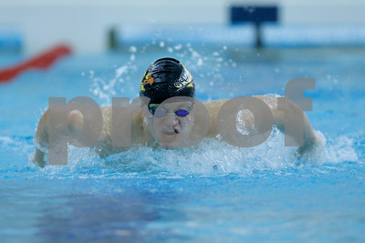 Avon's Haydon Czerwonky powers through the water on his way to winning the 200 yard IM with a time of 2:01:17 during the swim meet between Avon and Plainfield at Plainfield  High School in Plainfield,IN. (Jeff Brown/Flyer Photo)