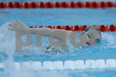Voctoria Wendt of Avon won the 200 yard freestyle with a time of 1:49:59 during the swim meet between Avon and Plainfield at Plainfield  High School in Plainfield,IN. (Jeff Brown/Flyer Photo)