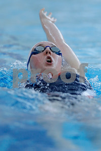 Plainfield's Tori Kinnamon finished second in the 200 yard IM during the swim meet between Avon and Plainfield at Plainfield  High School in Plainfield,IN. (Jeff Brown/Flyer Photo)