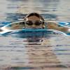 SAM HOUSEHOLDER   THE GOSHEN NEWS<br /> Concord swimmer Stephen Krecsmar swims the 100 yard breaststroke Thursday during the meet against Mishawaka.