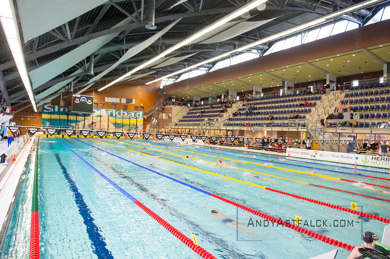 Warmup Before The Dayu0027s Finals At The Sloterpark Swimming Pool During The  Amsterdam Swim Meet In