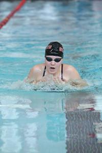 Gering's Jaylee Staman girls 100 yard breaststroke