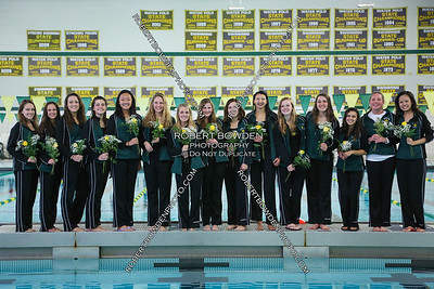 Huron vs Saline Senior Night 2015